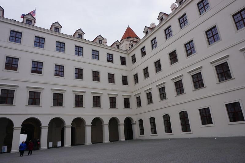 Burg Bratislava Innenhof