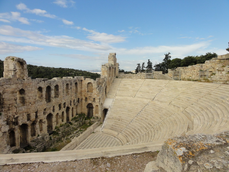 Amphietheater bei der Akropolis