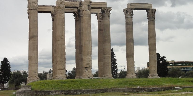 Olympieion or the Temple of Zeus