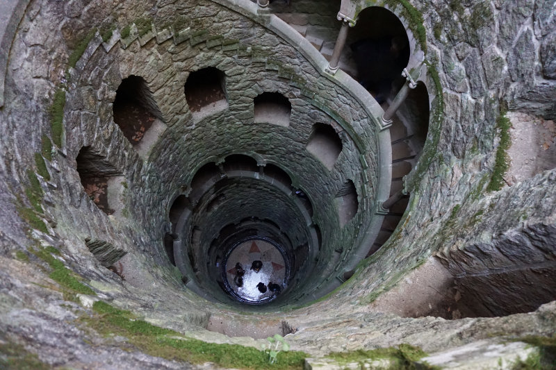Brunnen in Quinta da Regaleira