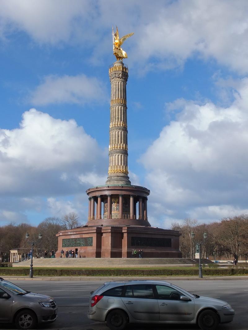 Victory column on the Große Stern in Berlin - Siegessäule