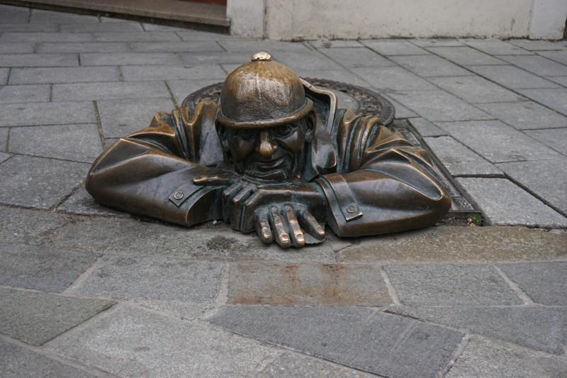 skulpture in Bratislava