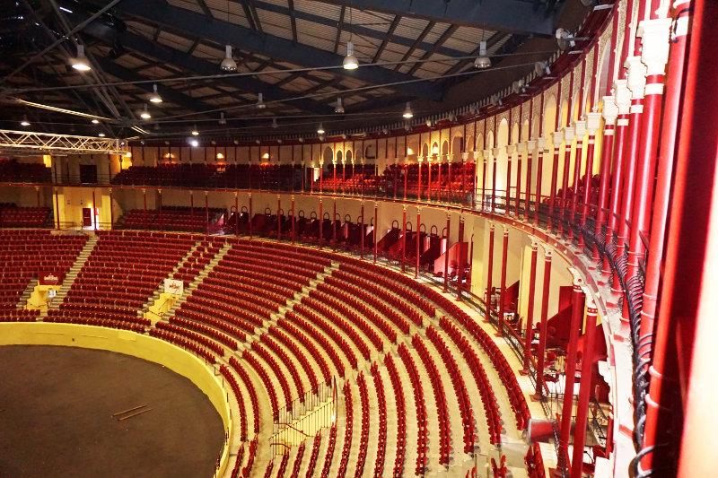 Innenraum Stierkampf Arena Lissabon