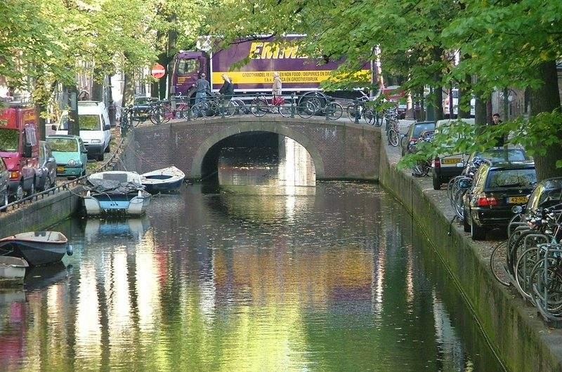 A walk through Amsterdam
