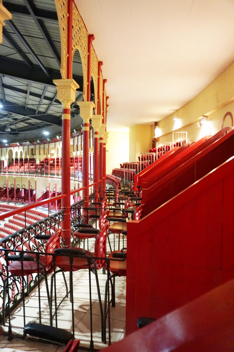 Lissabon, Stierkapf Arena, Logen im Innenraum