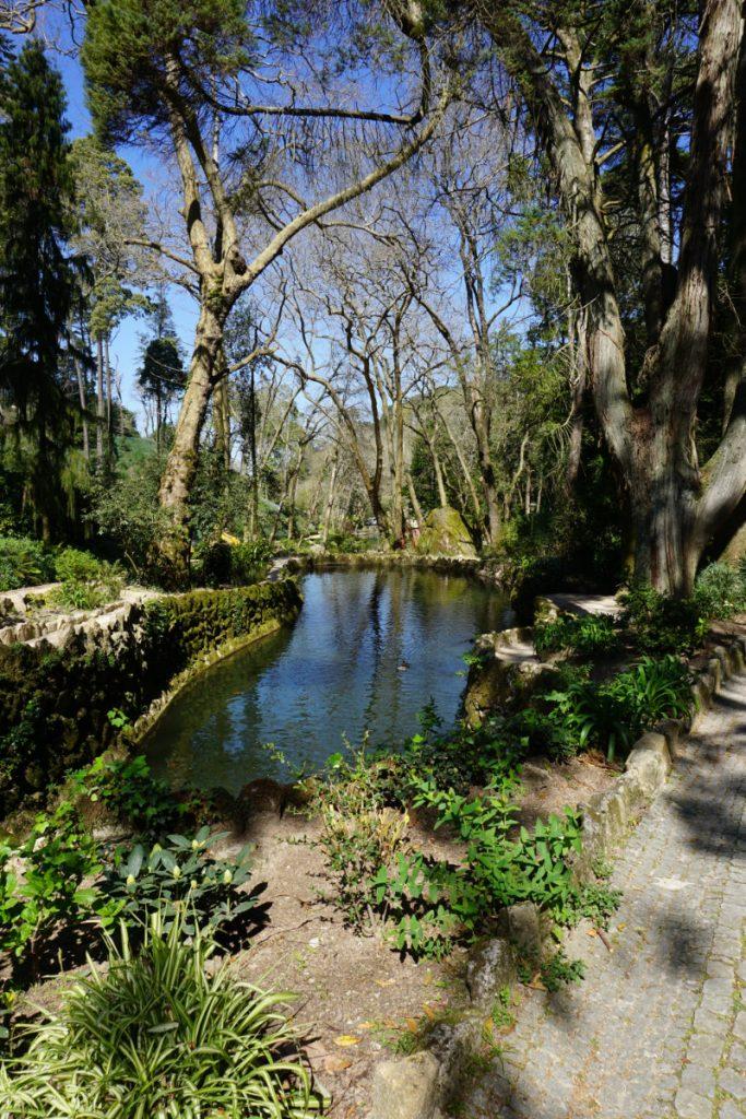 Garten Pena Palast