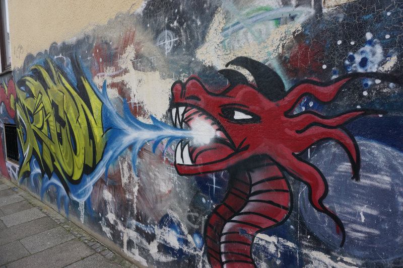 Street art in Bremen - more than just doodles!