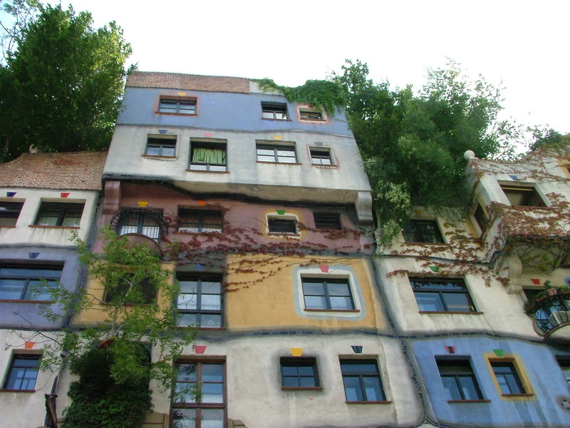 Hundertwasser House in Vienna