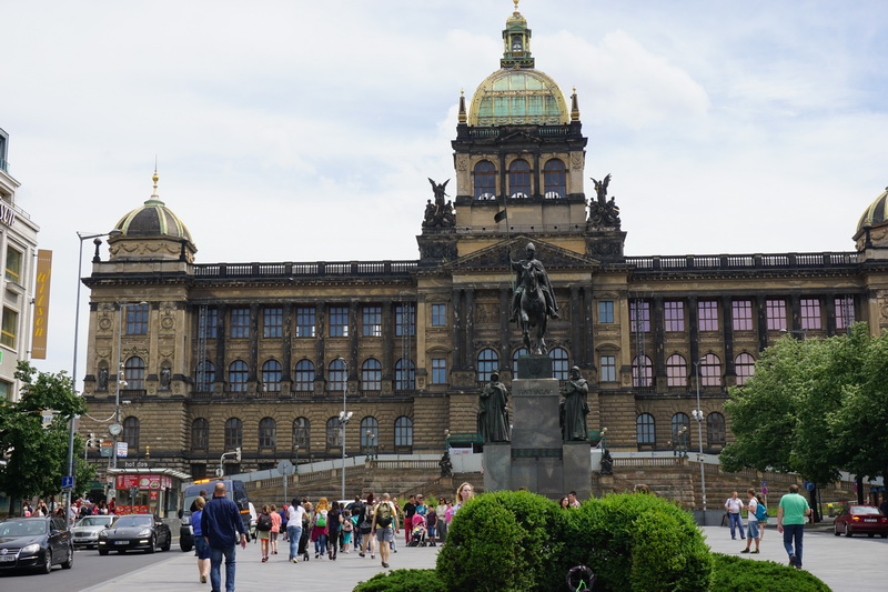 Visit Prague's Wenceslas Square