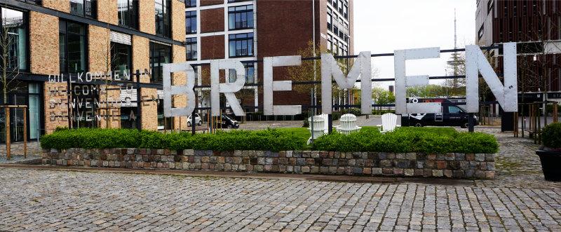 Wilkommen Bremen - Market Place in Bremen