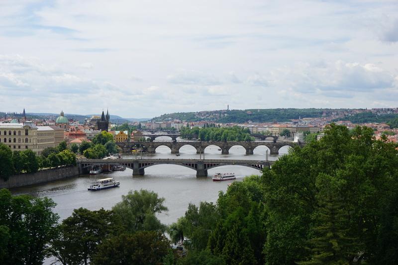 The Vltava River in Prague
