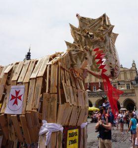 dragons in Krakow