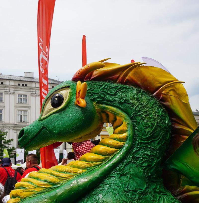dragon in Krakow