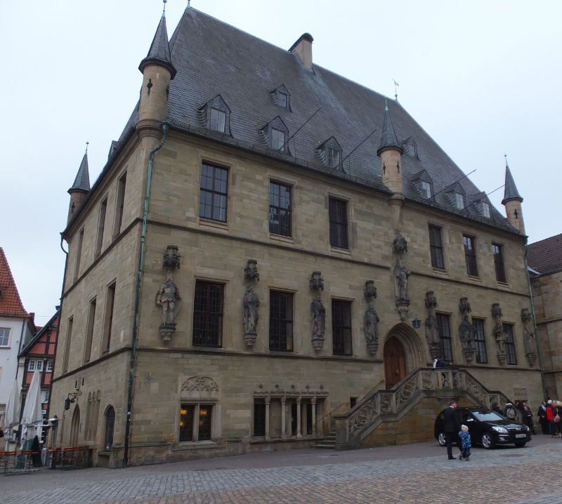 The Town Hall of Osnabrück