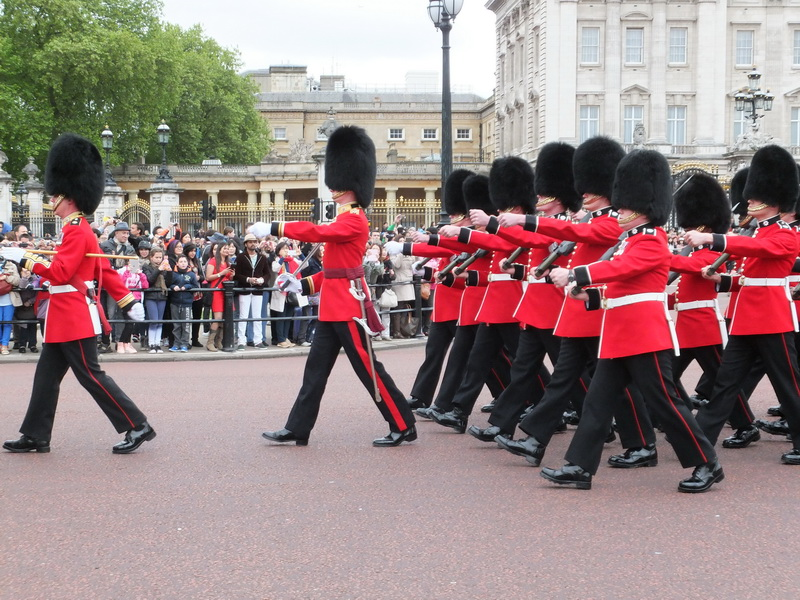 Buckingham Palace – unfortunately without the Queen