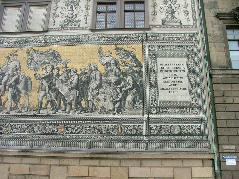 Procession of Princes - Mural in Dresden