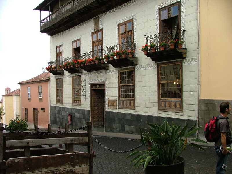 A trip to La Orotava on a rainy day