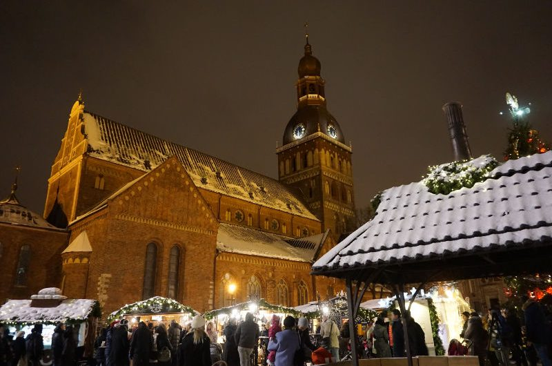 Christmas Market in Riga