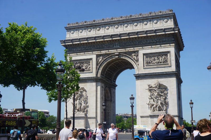 Arc de Triomphe – a must visit in Paris