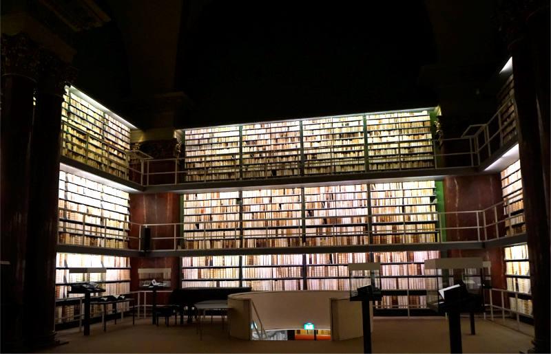 Bibliothek in Wolfenbüttel