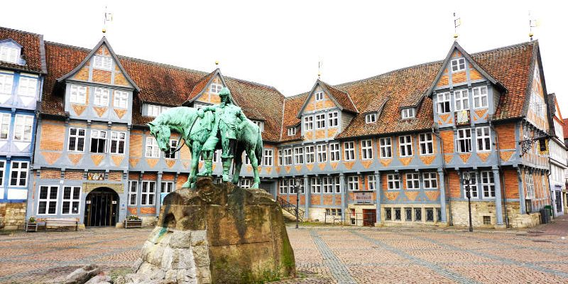 In and around the Old Town of Wolfenbüttel