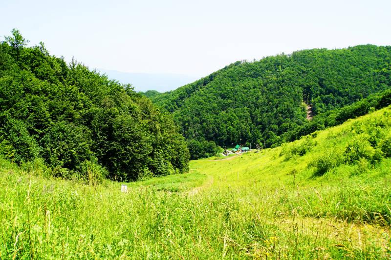 Bojanine Vode, a ski area near Niš in Serbia