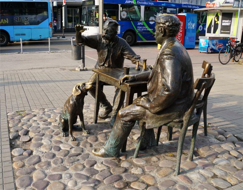 Stevan Sremac Sculpture - Niš