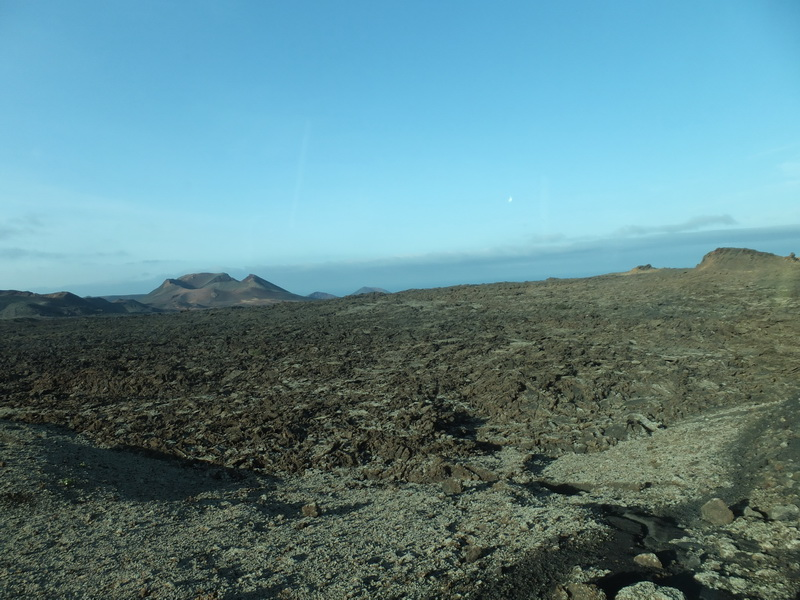 Parque Nacional de Timanfaya – the fiery mountains of Lanzarote