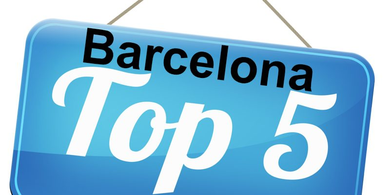 Barcelona Top 5 - The five most beautiful destinations in Barcelona