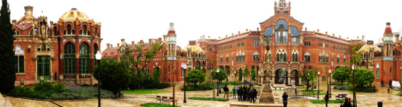 Another insider tip: Hospital de Sant Pau