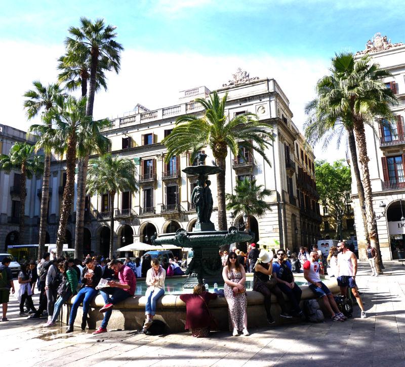 Free in Barcelona