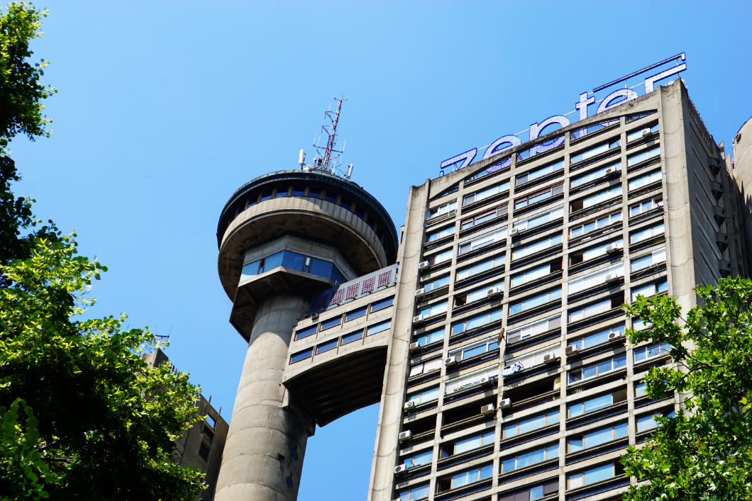 Genex Tower in Belgrade