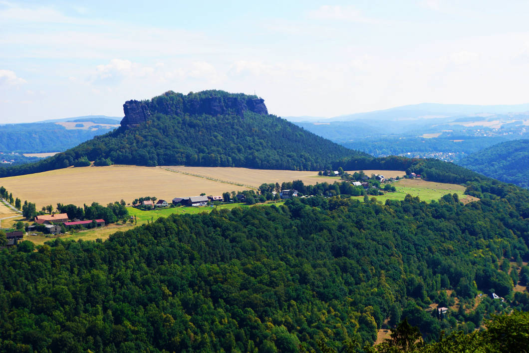 A visit to the Königstein fortress in the Elbe sandstone highlands
