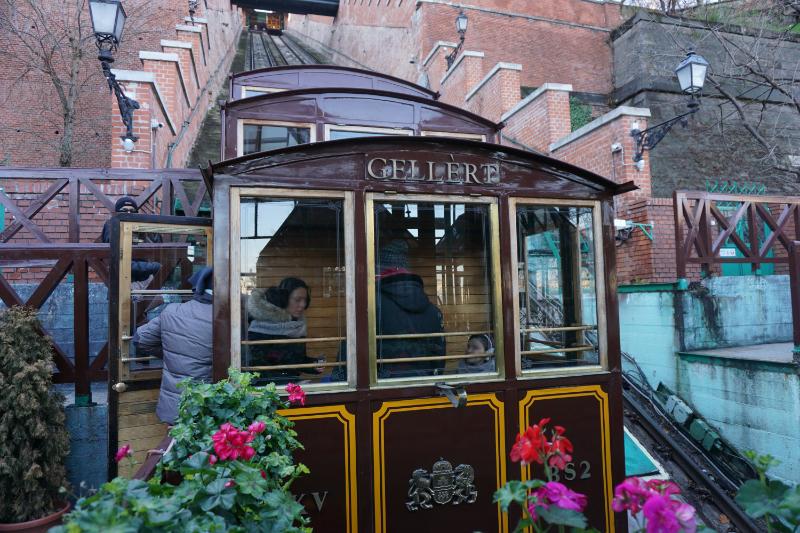 Cablecar to Buda Castle