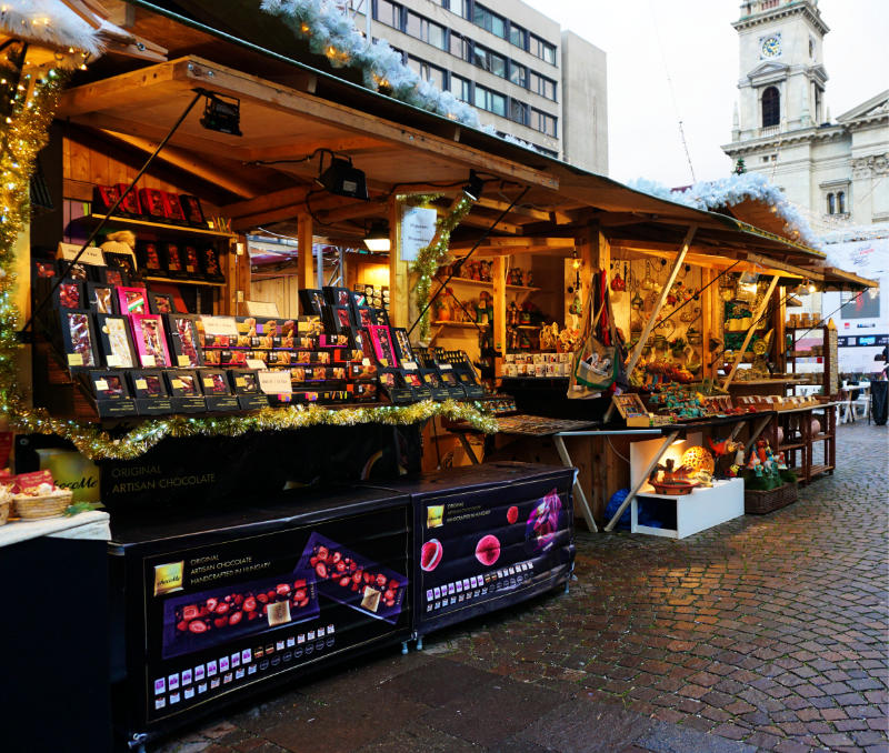 Christmas Market in Budapest