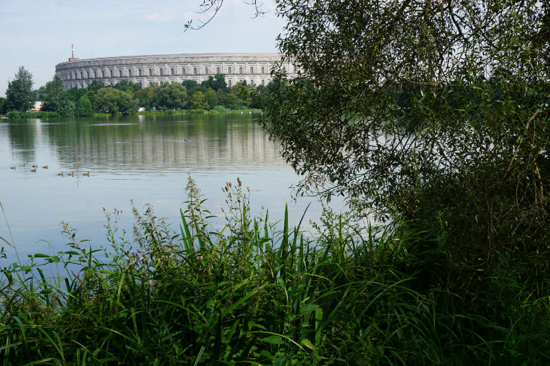 View of the Dutzendteich and the Congress Hall