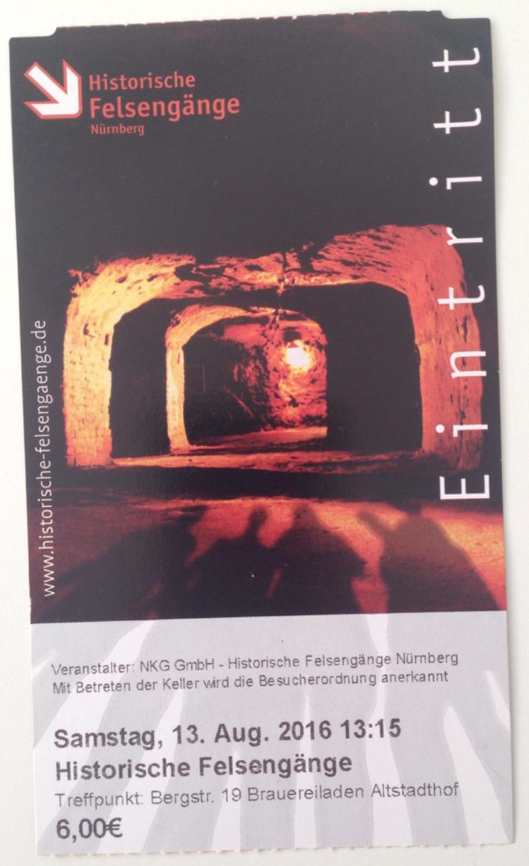 historical rock-cut-cellars of Nürnberg
