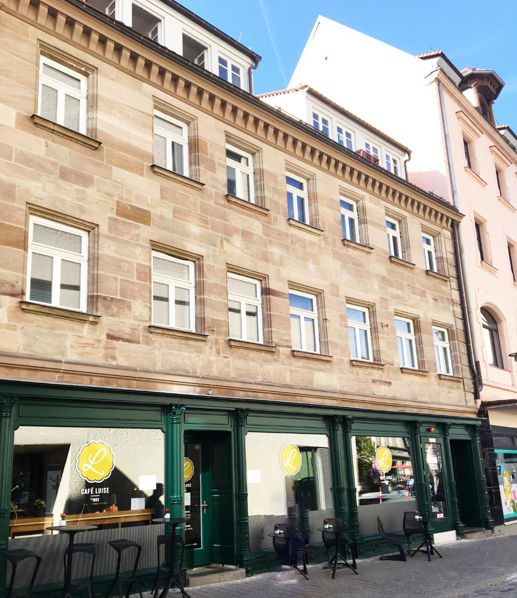 Geburtshaus Erhards in Fürth
