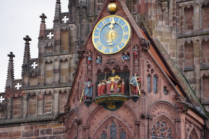Nürnberg – a stroll through the old town: Frauenkirche