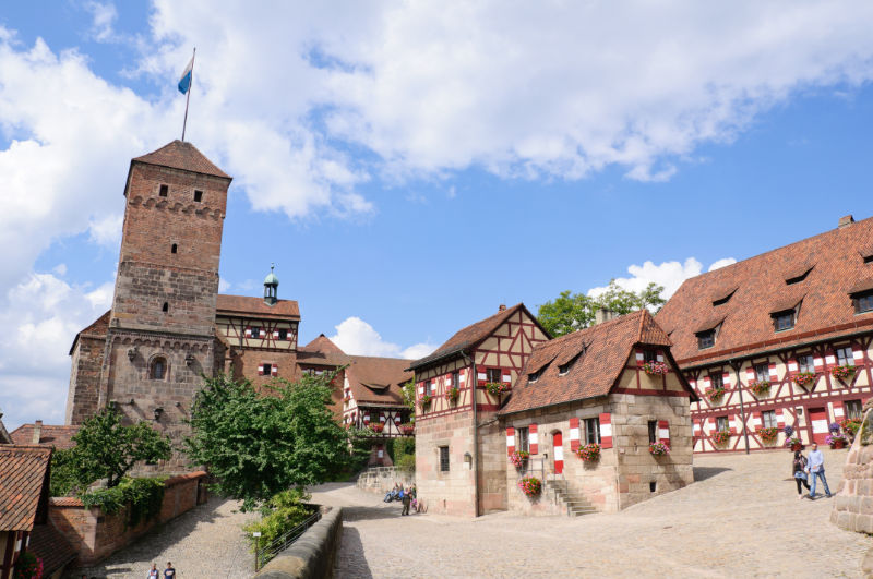 High above Nürnberg – visiting the Kaiserburg