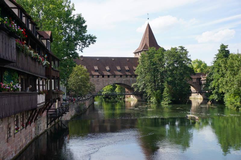 bridges in Nürnberg