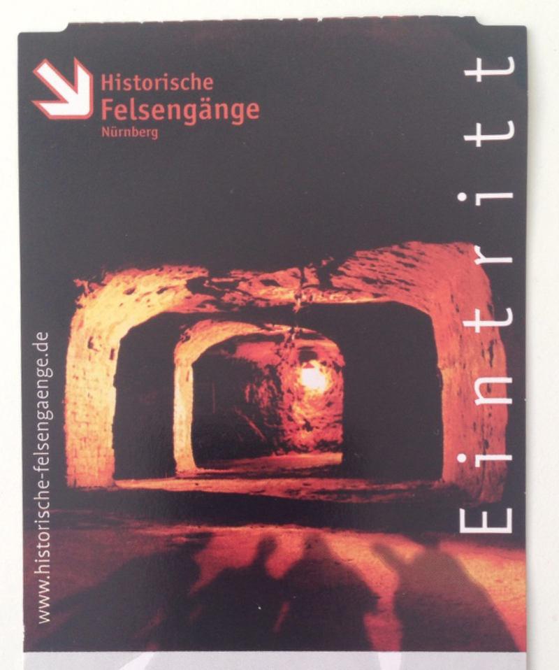 Underground in Nürnberg Felsengänge