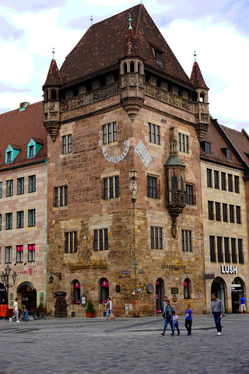 Walk through the beautiful old town of Nürnberg