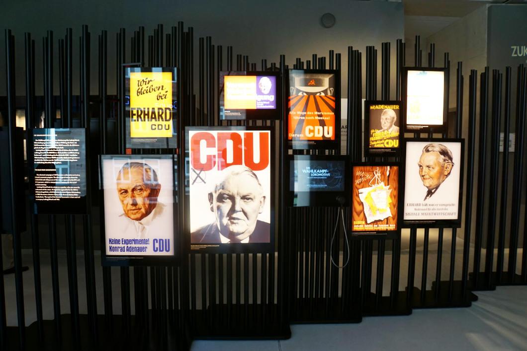 Ludwig Erhard Wahlplakate