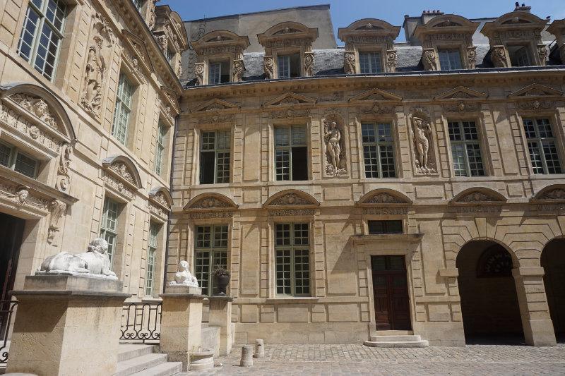 through Paris Marais