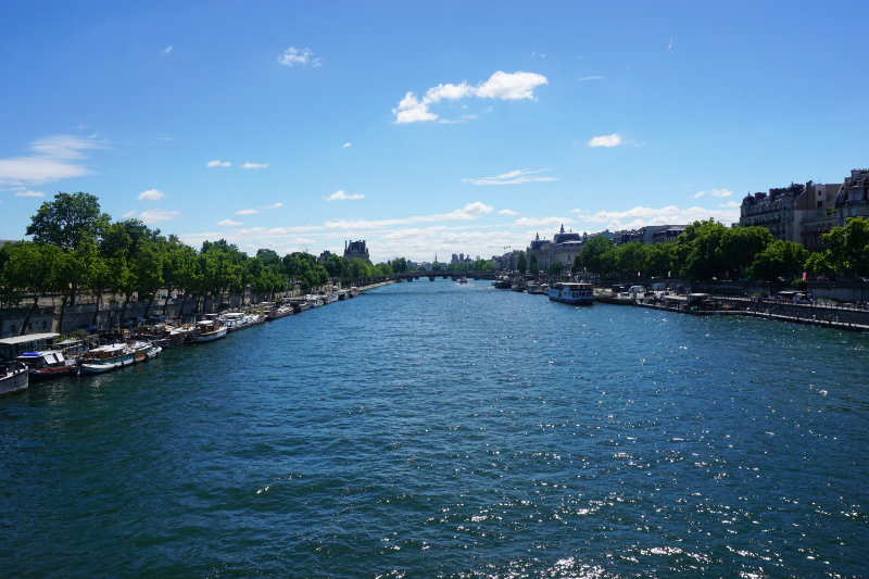 visit the Seine in Paris