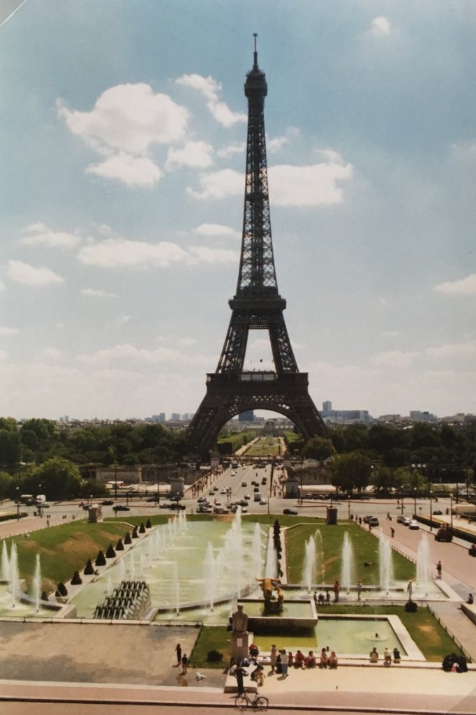 2003- Eiffel Tower and Palais du Trocadéro