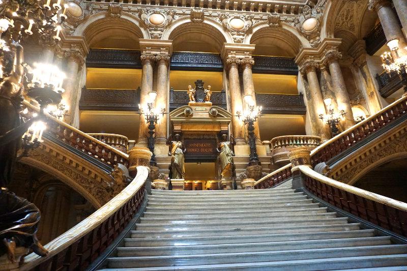 stairs opera