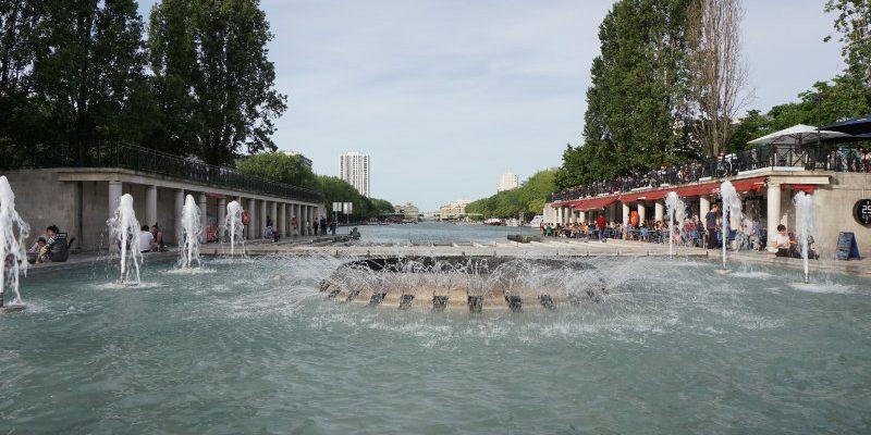 Canal Saint-Martin and Bassin de la Villette