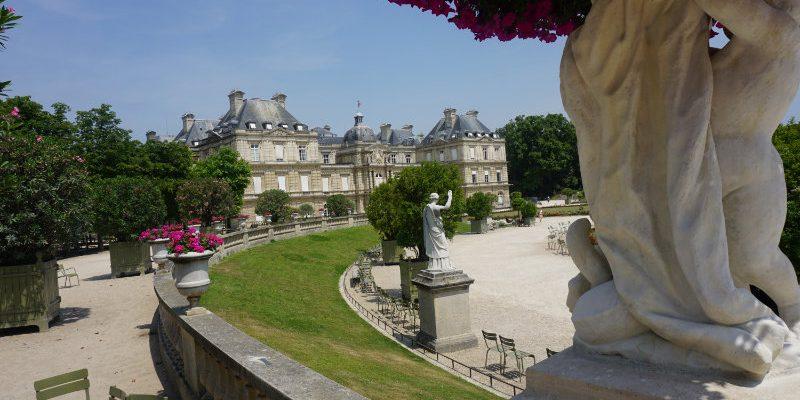 A walk through the Jardin de Luxembourg